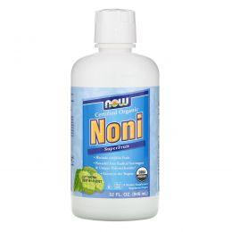 Now Foods, Органический нони, сок суперфрукта, 32 жидкие унции (946 мл)