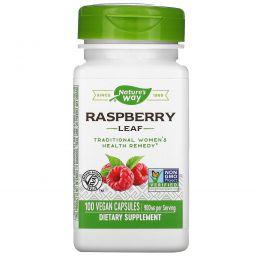 Nature's Way, Красная малина, листья, 450 мг, 100 капсул