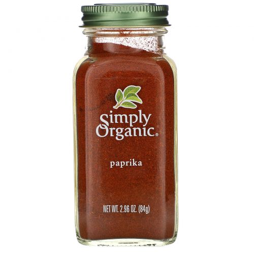 Simply Organic, Паприка, 2,96 унции (84 г)