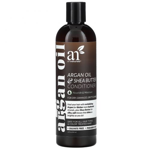 Artnaturals, Argan Oil & Shea Butter Conditioner, 12 fl oz (355 ml)