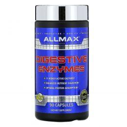 ALLMAX Nutrition, Пищеварительные ферменты, 90 капсул