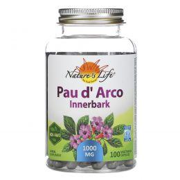 Nature's Herbs, Кора муравьиного дерева, внутренняя кора, 100 капсул