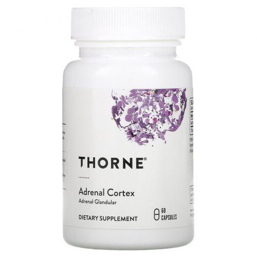 Thorne Research, Кора надпочечников, 60 капсул