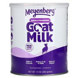 Meyenberg Goat Milk, Сухое козье молоко, витамин D, 12 унций (340 г)