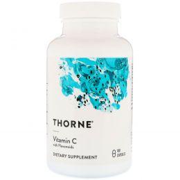Thorne Research, Витамин С c флавоноидами, 180 капсул в растительной оболочке