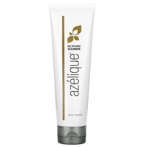 Azelique, Антивозрастное средство для очищения кожи, с азелаиновой кислотой, без мыла, растительные ингредиенты, без парабенов, без сульфатов, 4 унции (120 мл)