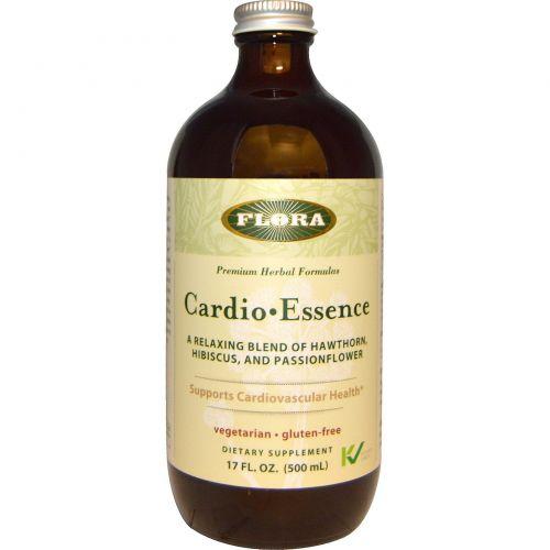 Flora, Пищевая добавка «Кардио•Основа, без глютена, 17 жидких унций (500 мл)