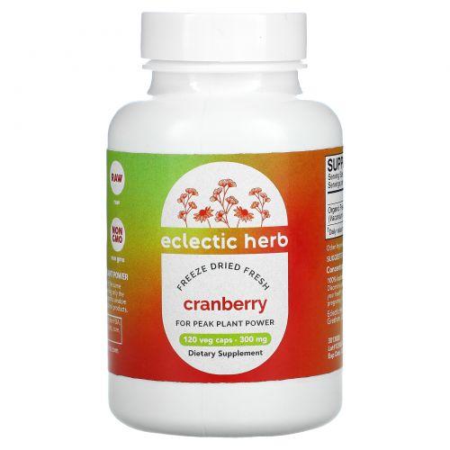 Eclectic Institute, Клюква, 300 мг, 120 вегетарианских капсул