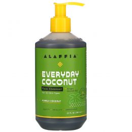 Everyday Coconut, Face Wash, For All Skin Types, Cleansing and Purifying, 12 fl oz (354 ml)