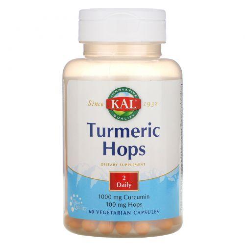 KAL, Turmeric Hops, 60 Vegetarian Capsules