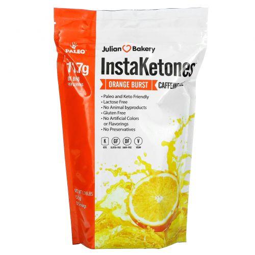 Julian Bakery, InstaKetones, апельсиновые брызги, 1,24 ф (565 г)