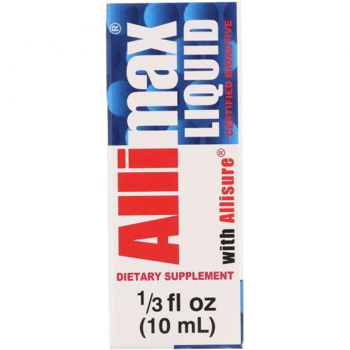 Allimax, Жидкий Allimax с Allisure АС-23, 1/3 жидких унций (10 мл)