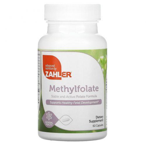 Zahler, Метилфолат, 60 капсул
