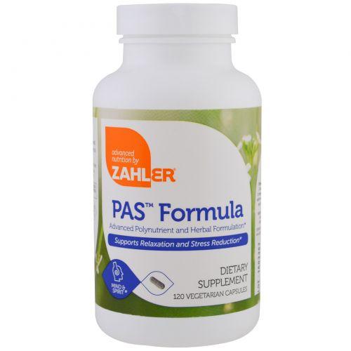Zahler, PAS Formula, Продвинутая формула с полинутриентами и травами, 120 вегетарианских капсул