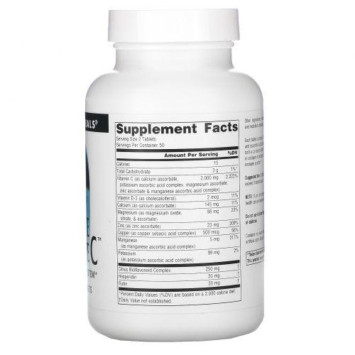 Source Naturals, Лучший аскорбат C, 1000 мг, 100 таблеток