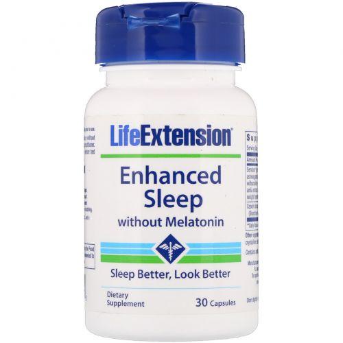 Life Extension, Enhanced Sleep without Melatonin, 30 Capsules