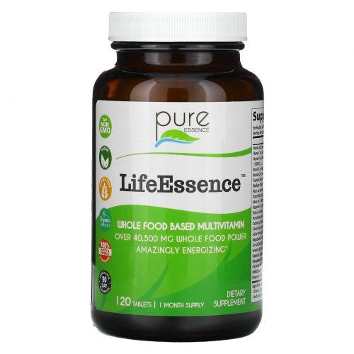 Pure Essence, LifeEssence, Multivitamin & Mineral, 120 Tablets