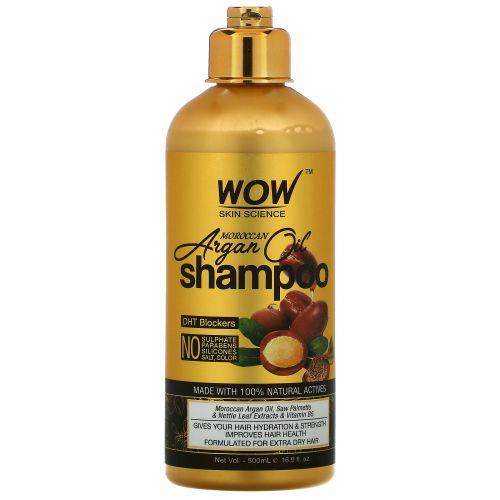 Wow Skin Science, Moroccan Argan Oil, шампунь с марокканским аргановым маслом, 200мл (16,9жидк.унции)