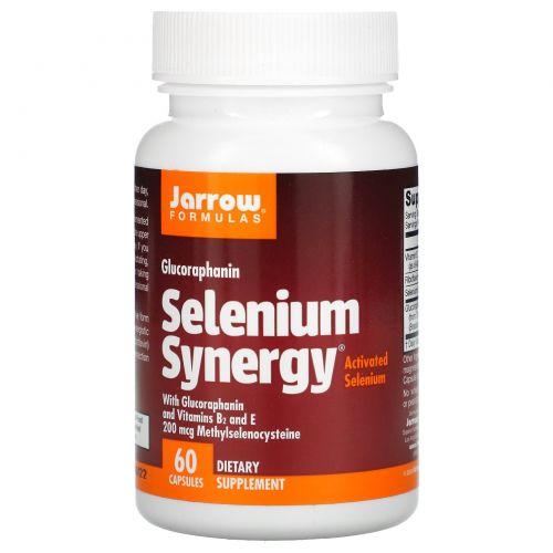 Jarrow Formulas, Selenium Synergy («Кремниевая синергия»), 200 мкг, 60 капсул