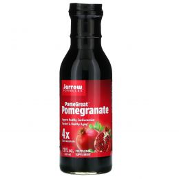 Jarrow Formulas, PomeGreat, гранатовый, 30 мл (12 fl oz)