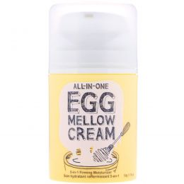 Too Cool for School, All-in-One Egg Mellow Cream, 5-in-1 Firming Moisturizer, 1.76 oz (50 g)