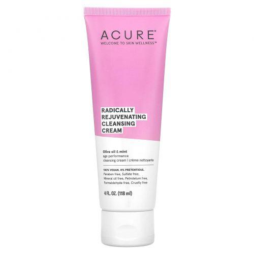 Acure, Радикальное омоложение, очищающий крем, 4 ж. унц. (118 мл)
