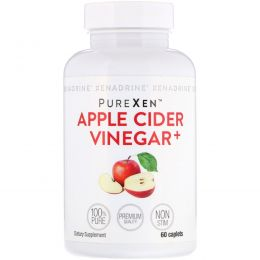 Xenadrine, PureXen, Apple Cider Vinegar+, 60 Caplets