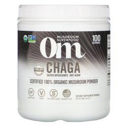 Organic Mushroom Nutrition, Чага, грибной порошок, 7.14 унций (200 г)