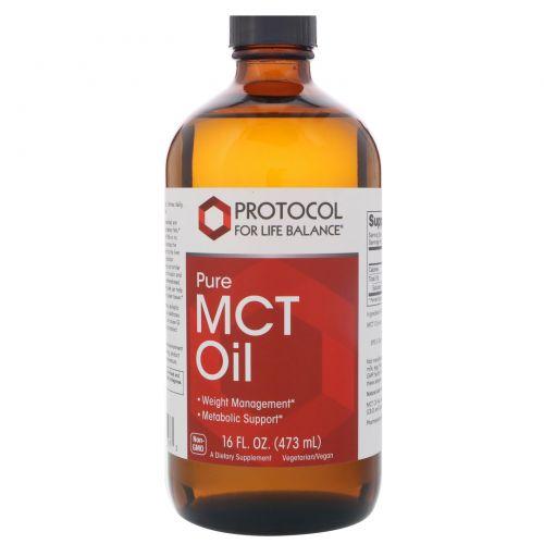 Protocol for Life Balance, Pure MCT Oil, 16 fl oz (473 ml)