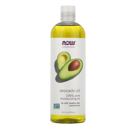 Now Foods, Solutions, масло авокадо, 16 жидких унций (473 мл)