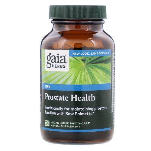 Gaia Herbs, Здоровье простаты, 120 растительных капсул с жидким содержимым