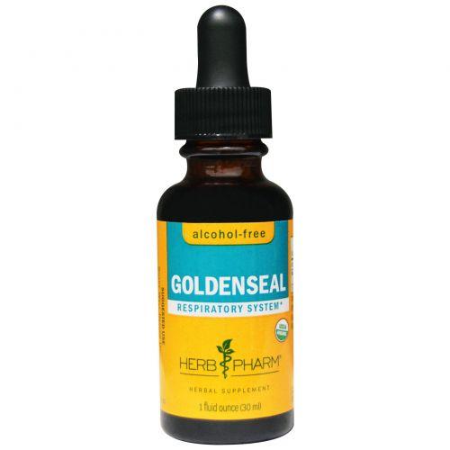 Herb Pharm, Гидрастис (желтокорень), без спирта, 1 жидкая унция (30 мл)