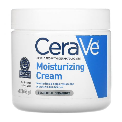 CeraVe, Moisturizing Cream, 16 oz (453 g)