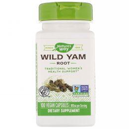 Nature's Way, Дикий ям, корень, 425 мг, 100 капсул