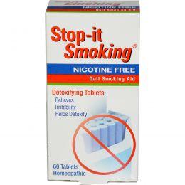 NatraBio, Stop-it Smoking, таблетки для детоксикации, без никотина, 60 таблеток