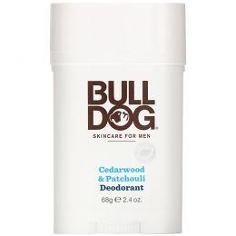 Bulldog Skincare For Men, Дезодорант из кедрового дерева и пачули, 68 г