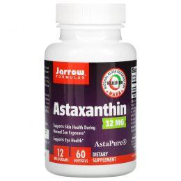 Jarrow Formulas, Astaxanthin, 12 mg, 60 Softgels