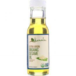 Kevala, Органическое кунжутное масло первого отжима, 8 жидких унций (236 мл)