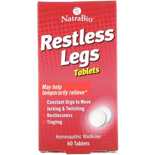 NatraBio, От синдрома беспокойных ног, 60 таблеток