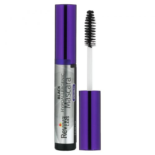 Reviva Labs, HypoAllergenic Mascara, Black, .25 oz