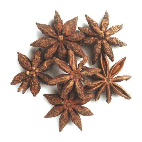 Frontier Natural Products, Органические цельные звезды аниса, 16 унций (453 г)