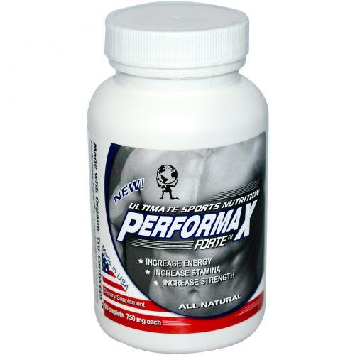 Aloha Medicinals Inc., Performax Forte, Ultimate Sports Nutrition, 750 мг, 90 каплетов