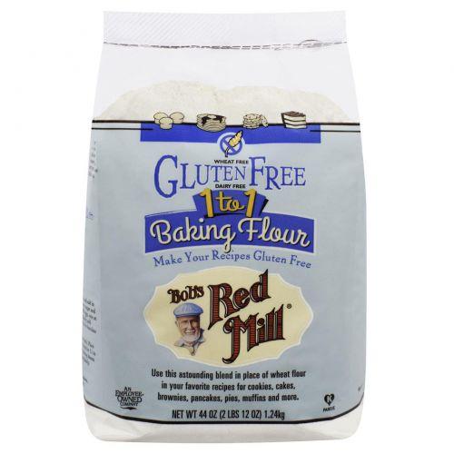 Bob's Red Mill, Gluten Free Baking Flour, 44 oz (2 lb 12 oz) 1.24 kg