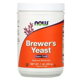 Now Foods, Brewer's Yeast, 1 lb (454 g)