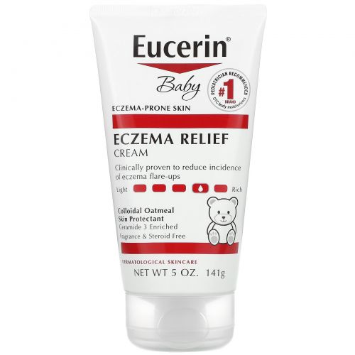 Eucerin, Eczema Relief for Baby, Body Creme, 5.0 oz