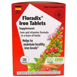 Flora, Флорадикс с Железом, 120 таблеток