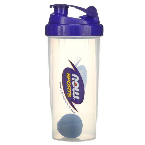 Now Foods, Now Sports, Бутылка-шейкер с шариком для смешивания, 20 унций