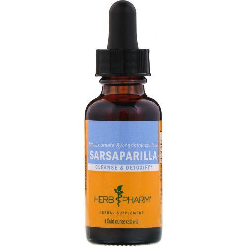 Herb Pharm, Сарсапарель, 1 жидкая унция (30 мл)