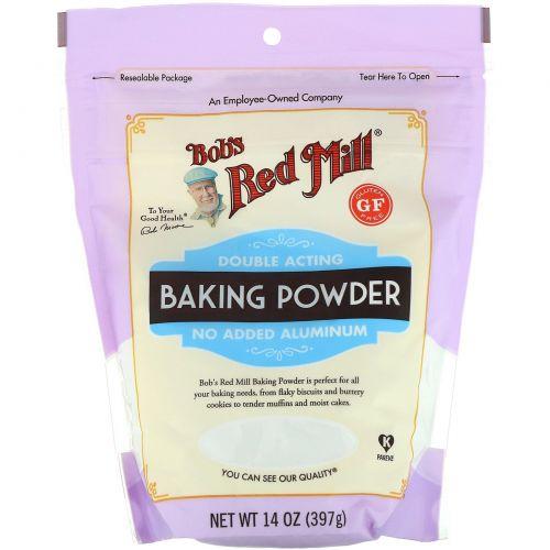 Bob's Red Mill, Baking Powder, Gluten Free, 14 oz (397 g)