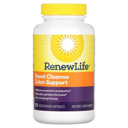 Renew Life, Очистка кишечника, 150 вегетарианских капсул